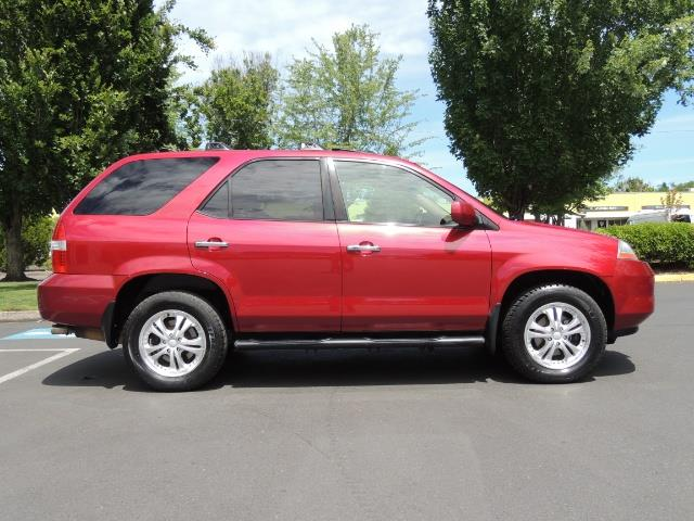 2002 Acura MDX Touring/ AWD / 3RD Row Seats / Leather / Moon Roof - Photo 4 - Portland, OR 97217