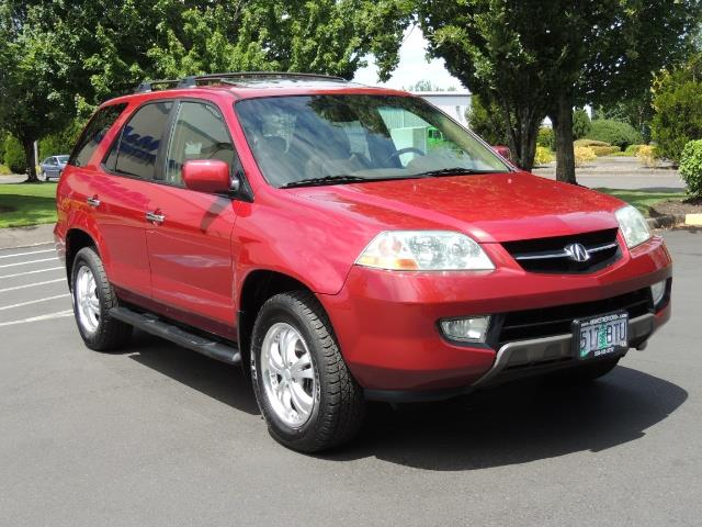 2002 Acura MDX Touring/ AWD / 3RD Row Seats / Leather / Moon Roof - Photo 2 - Portland, OR 97217