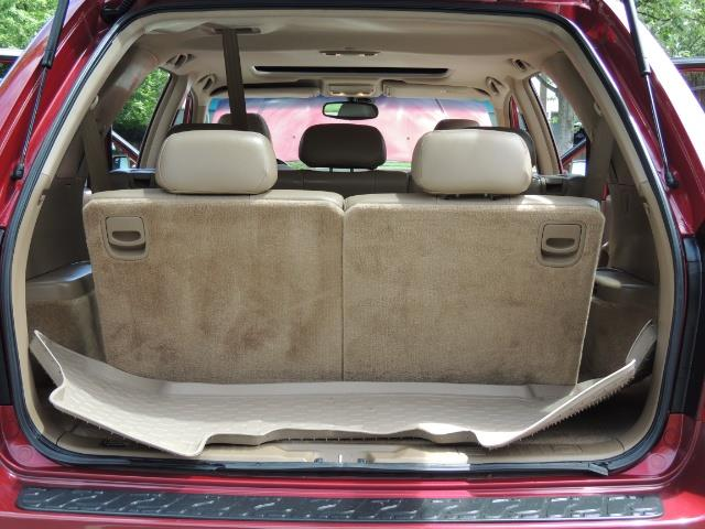2002 Acura MDX Touring/ AWD / 3RD Row Seats / Leather / Moon Roof - Photo 35 - Portland, OR 97217