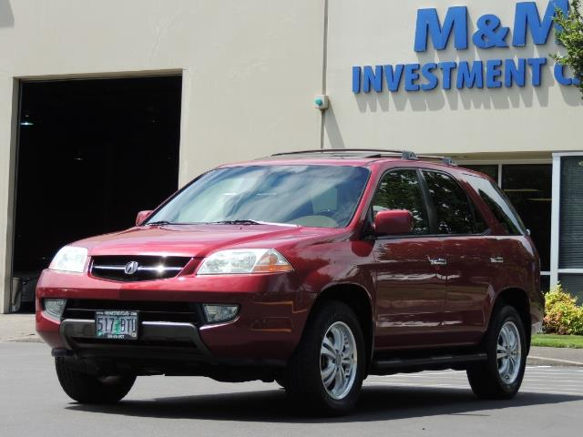 2002 Acura MDX Touring/ AWD / 3RD Row Seats / Leather / Moon Roof - Photo 40 - Portland, OR 97217