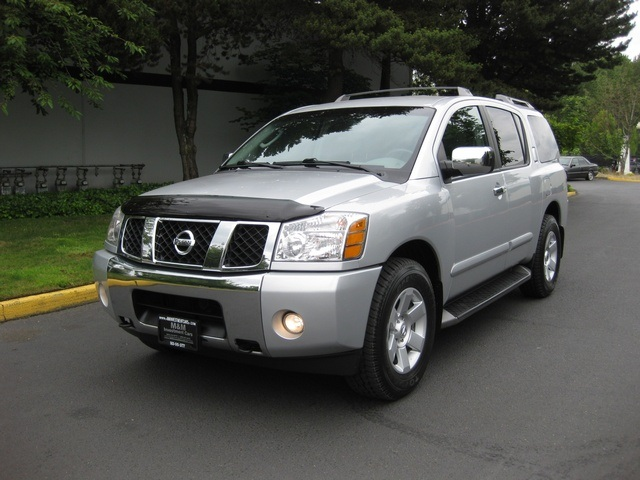 2004 nissan armada le 4wd leather 3rd seat rear dvd. Black Bedroom Furniture Sets. Home Design Ideas