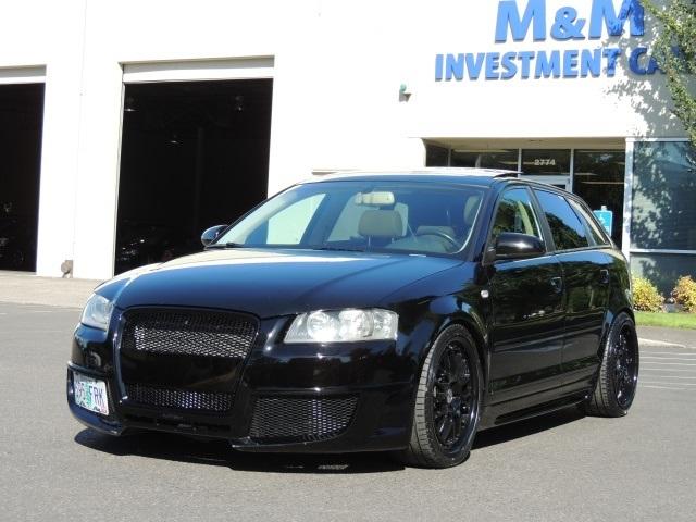 2006 Audi A3 2 0T / Leather / Sunroof / SPORT SPORT