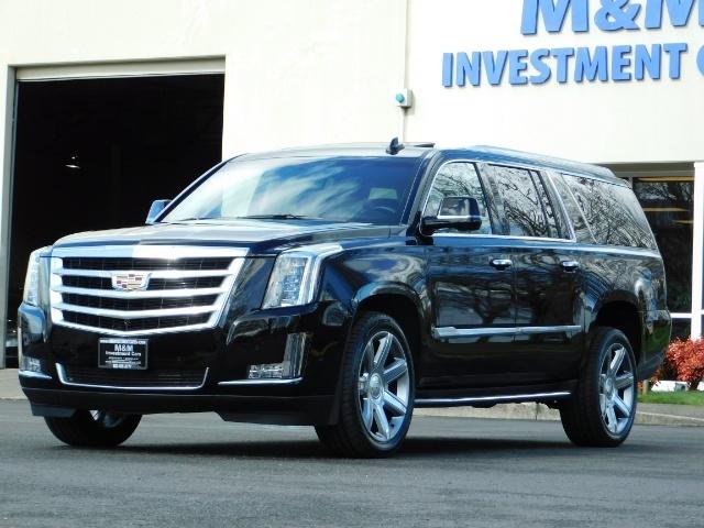 2017 Cadillac Escalade Esv Awd Pure Luxury Lwb Full Warranty Photo