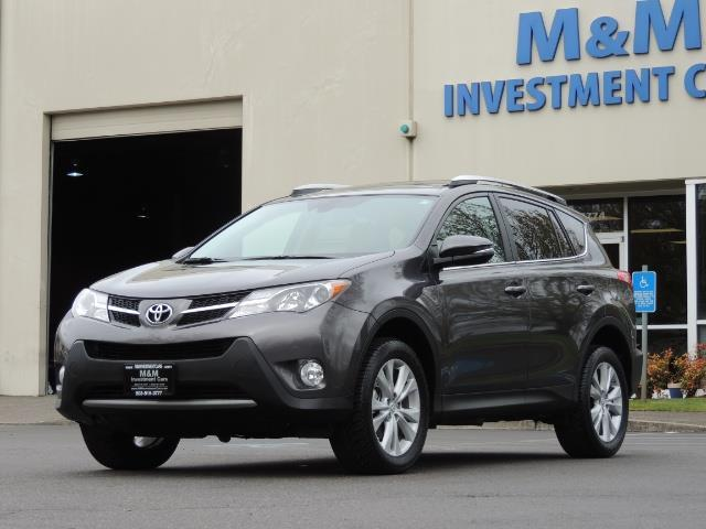 2014 Toyota RAV4 Limited / AWD / Navigation / Blind Spot Monitor - Photo 48 - Portland, OR 97217