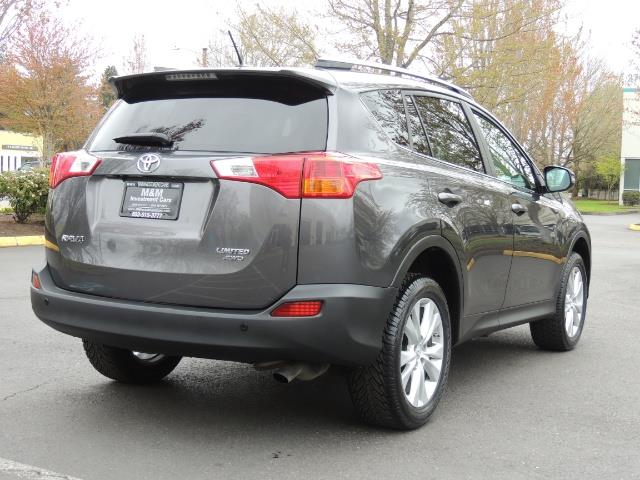 2014 Toyota RAV4 Limited / AWD / Navigation / Blind Spot Monitor - Photo 7 - Portland, OR 97217
