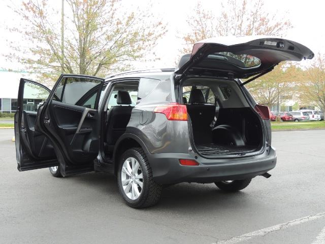 2014 Toyota RAV4 Limited / AWD / Navigation / Blind Spot Monitor - Photo 27 - Portland, OR 97217