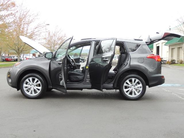 2014 Toyota RAV4 Limited / AWD / Navigation / Blind Spot Monitor - Photo 26 - Portland, OR 97217