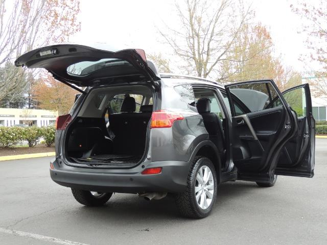 2014 Toyota RAV4 Limited / AWD / Navigation / Blind Spot Monitor - Photo 29 - Portland, OR 97217