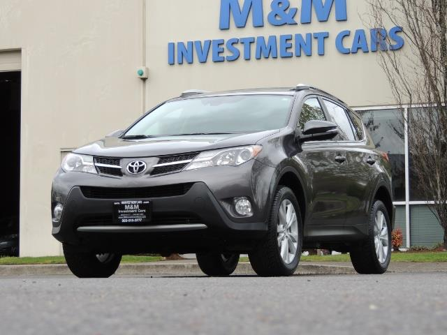 2014 Toyota RAV4 Limited / AWD / Navigation / Blind Spot Monitor - Photo 49 - Portland, OR 97217