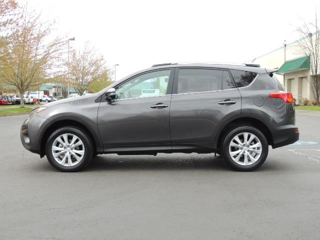 2014 Toyota RAV4 Limited / AWD / Navigation / Blind Spot Monitor - Photo 3 - Portland, OR 97217