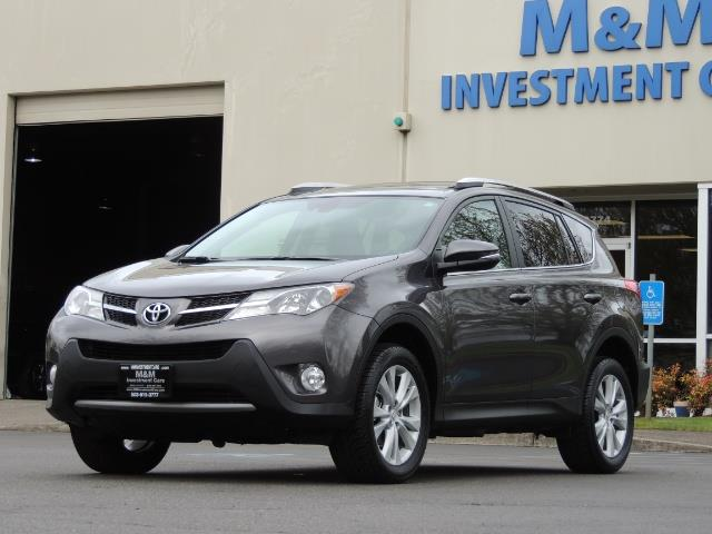 2014 Toyota RAV4 Limited / AWD / Navigation / Blind Spot Monitor - Photo 47 - Portland, OR 97217