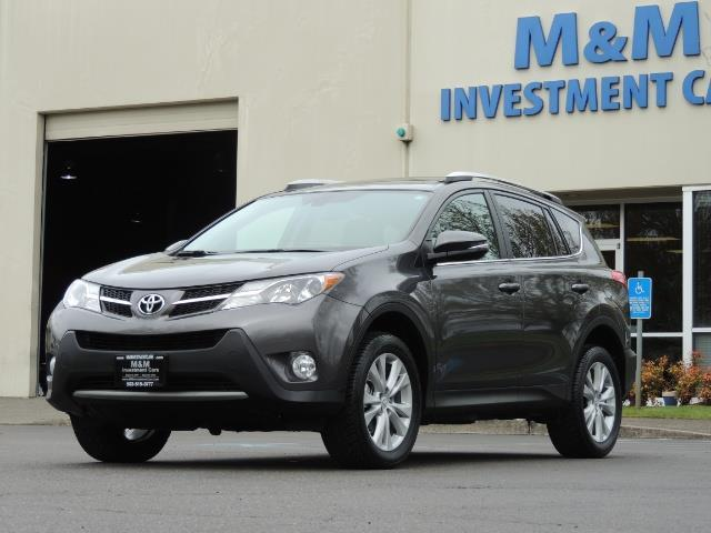 2014 Toyota RAV4 Limited / AWD / Navigation / Blind Spot Monitor - Photo 1 - Portland, OR 97217