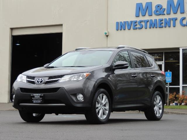 2014 Toyota RAV4 Limited / AWD / Navigation / Blind Spot Monitor - Photo 39 - Portland, OR 97217