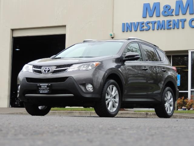 2014 Toyota RAV4 Limited / AWD / Navigation / Blind Spot Monitor - Photo 44 - Portland, OR 97217