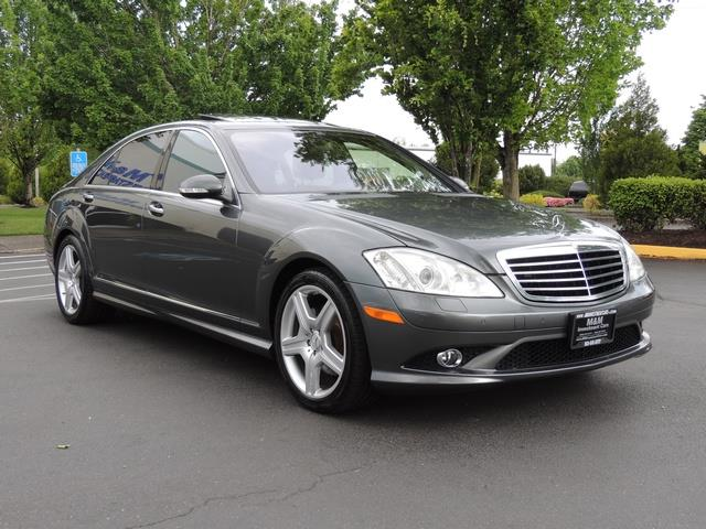 2008 Mercedes Benz S550 Designo Edition AMG Sport PKG Night View Pkg3    Photo 2