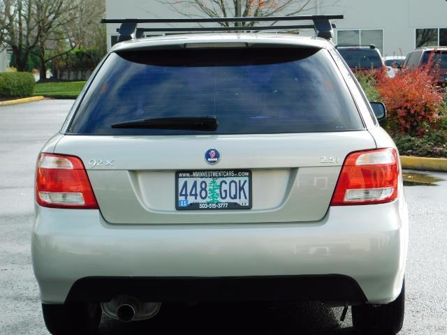 2006 Saab 9-2X 2.5i / Wagon  / AWD / 5-SPEED MANUAL / Excel Cond - Photo 5 - Portland, OR 97217