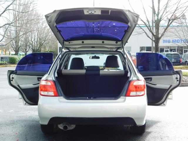 2006 Saab 9-2X 2.5i / Wagon  / AWD / 5-SPEED MANUAL / Excel Cond - Photo 21 - Portland, OR 97217