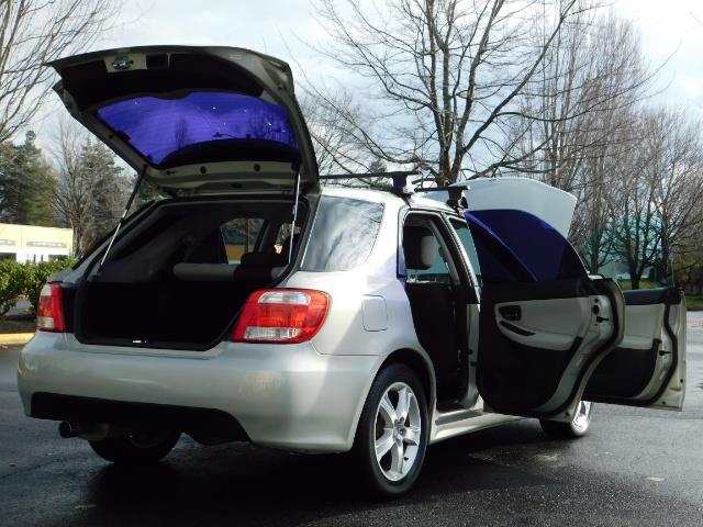 2006 Saab 9-2X 2.5i / Wagon  / AWD / 5-SPEED MANUAL / Excel Cond - Photo 28 - Portland, OR 97217