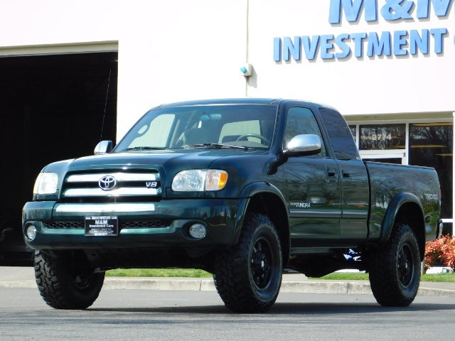 2003 Toyota Tundra SR5 4dr Access Cab SR5 / 4X4 / 1-OWNER / LIFTED - Photo 1 - Portland, OR 97217