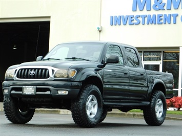 2004 Toyota Tacoma Double Cab V6 4WD LIMITED TRD RRLOCKS 1OWNR LIFTED Truck