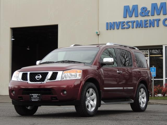 2011 Nissan Armada SL / Leather / Third seat / Bckup cam / 65K MILES - Photo 27 - Portland, OR 97217