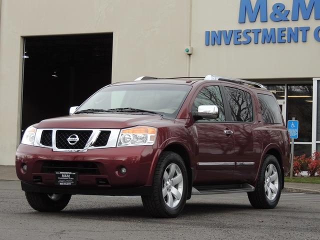 2011 Nissan Armada SL / Leather / Third seat / Bckup cam / 65K MILES - Photo 29 - Portland, OR 97217