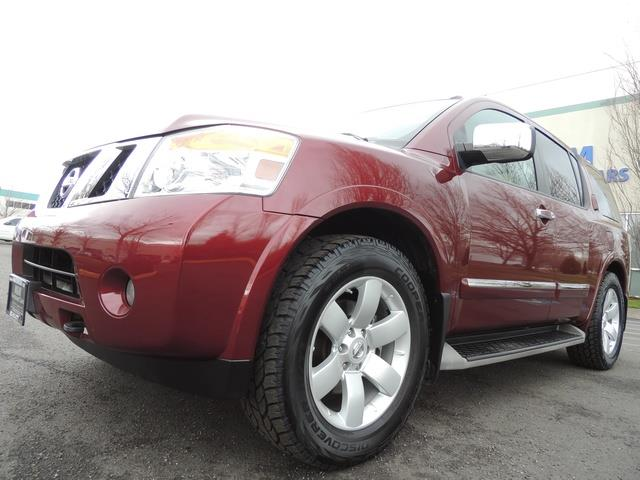 2011 Nissan Armada SL / Leather / Third seat / Bckup cam / 65K MILES - Photo 9 - Portland, OR 97217