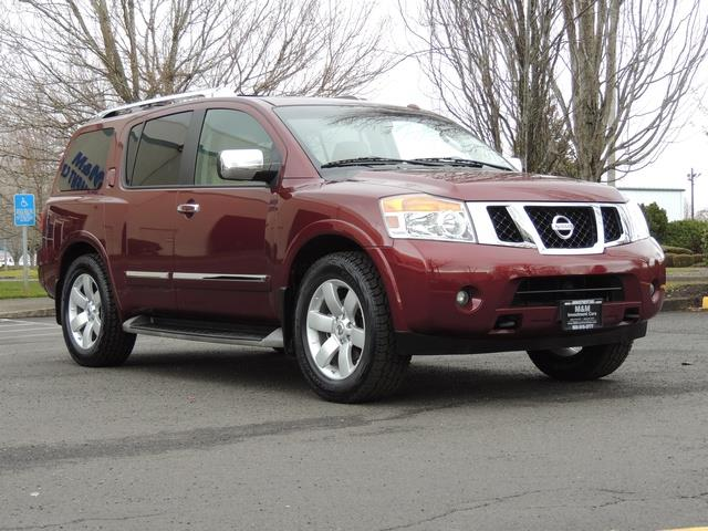 2011 Nissan Armada SL / Leather / Third seat / Bckup cam / 65K MILES - Photo 2 - Portland, OR 97217