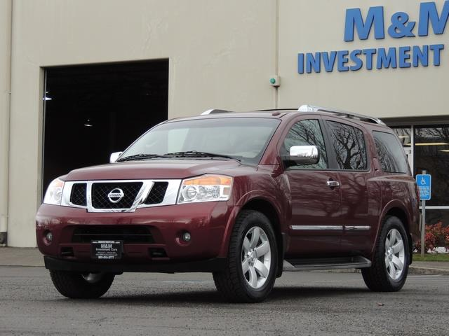 2011 Nissan Armada SL / Leather / Third seat / Bckup cam / 65K MILES - Photo 28 - Portland, OR 97217