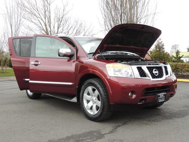 2011 Nissan Armada SL / Leather / Third seat / Bckup cam / 65K MILES - Photo 36 - Portland, OR 97217