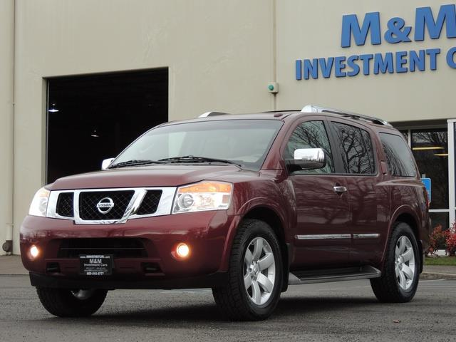 2011 Nissan Armada SL / Leather / Third seat / Bckup cam / 65K MILES - Photo 1 - Portland, OR 97217