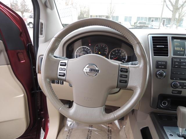 2011 Nissan Armada SL / Leather / Third seat / Bckup cam / 65K MILES - Photo 21 - Portland, OR 97217