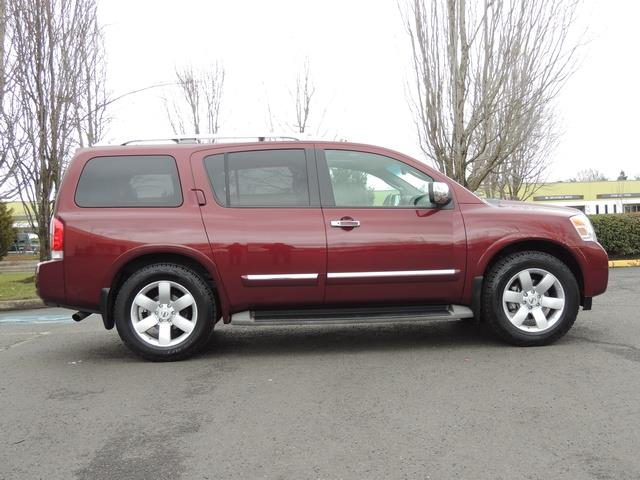 2011 Nissan Armada SL / Leather / Third seat / Bckup cam / 65K MILES - Photo 4 - Portland, OR 97217