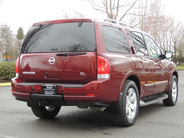 2011 Nissan Armada SL / Leather / Third seat / Bckup cam / 65K MILES - Photo 8 - Portland, OR 97217