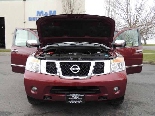 2011 Nissan Armada SL / Leather / Third seat / Bckup cam / 65K MILES - Photo 37 - Portland, OR 97217