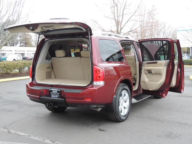 2011 Nissan Armada SL / Leather / Third seat / Bckup cam / 65K MILES - Photo 34 - Portland, OR 97217