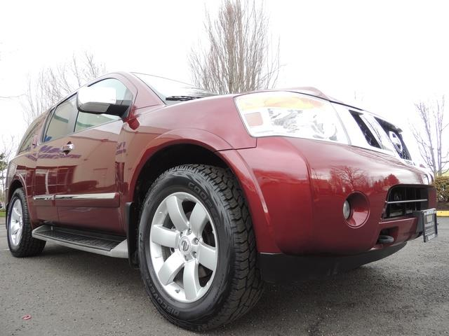 2011 Nissan Armada SL / Leather / Third seat / Bckup cam / 65K MILES - Photo 10 - Portland, OR 97217