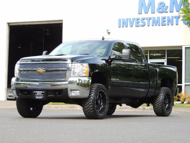 2009 Chevrolet Silverado 2500 LTZ / 4X4 / 6.6L Duramax Diesel / Allison Tranny - Photo 46 - Portland, OR 97217