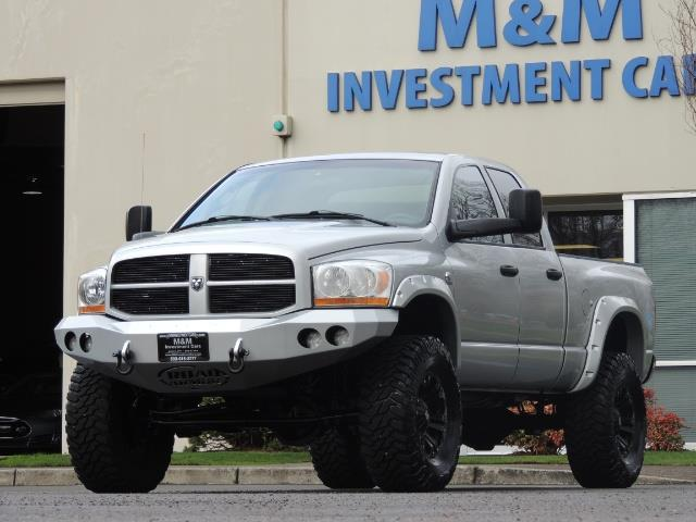 2006 Dodge Ram 2500 SLT / 4X4 / 5.9L Cummins Diesel / HIGH OUTPUT - Photo 36 - Portland, OR 97217