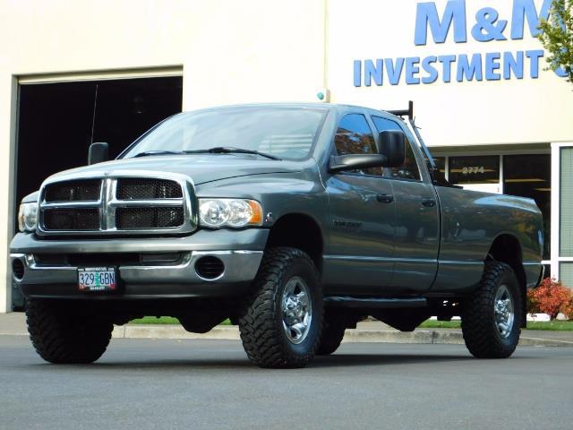 2005 Dodge Ram 2500 SLT 4dr / 4X4 / 5.9L DIESEL / 6-SPEED / JAKE BRAKE - Photo 42 - Portland, OR 97217