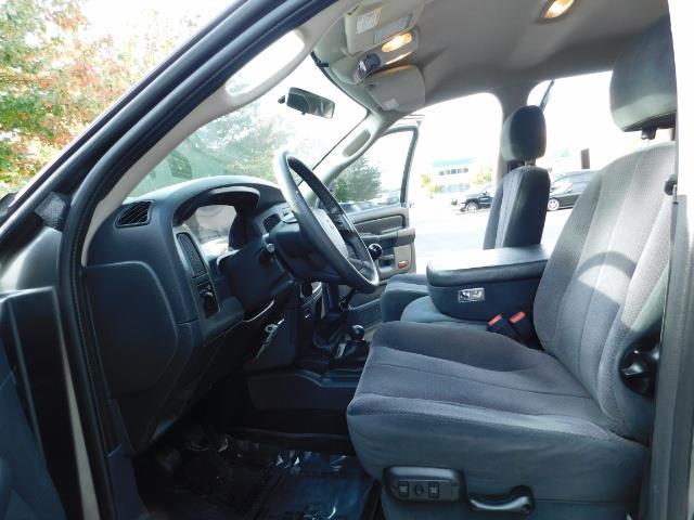 2005 Dodge Ram 2500 SLT 4dr / 4X4 / 5.9L DIESEL / 6-SPEED / JAKE BRAKE - Photo 14 - Portland, OR 97217