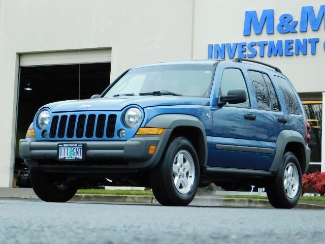 2005 Jeep Liberty Sport 4WD 126K Miles 6Cyl Moon roof Brand NewTires - Photo 1 - Portland, OR 97217