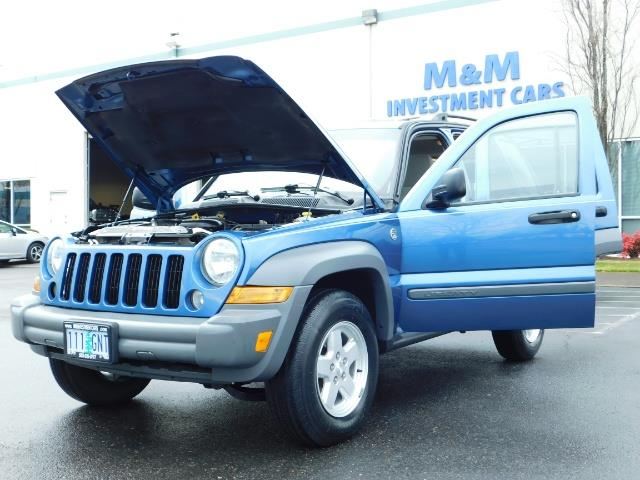 2005 Jeep Liberty Sport 4WD 126K Miles 6Cyl Moon roof Brand NewTires - Photo 25 - Portland, OR 97217