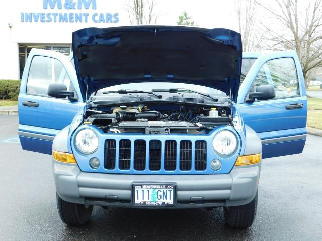 2005 Jeep Liberty Sport 4WD 126K Miles 6Cyl Moon roof Brand NewTires - Photo 30 - Portland, OR 97217