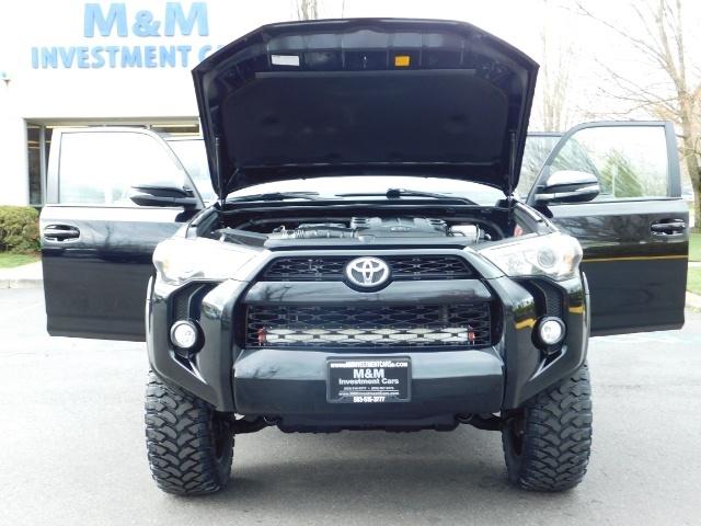 2016 Toyota 4Runner SR5 Premium NAV Leather Sunroof 3rd Row-Seat LIFTD - Photo 33 - Portland, OR 97217