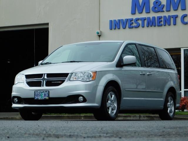 2012 Dodge Grand Caravan Crew Plus 7-Pass Dual Power Sliding Door 109K - Photo 1 - Portland, OR 97217