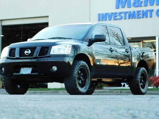 2005 Nissan Titan SE Crew Cab V8 / 4X4 OFF ROAD / CUSTOM EXHAUST - Photo 39 - Portland, OR 97217
