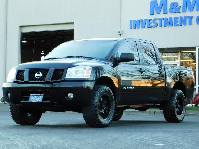 2005 Nissan Titan SE Crew Cab V8 / 4X4 OFF ROAD / CUSTOM EXHAUST - Photo 38 - Portland, OR 97217