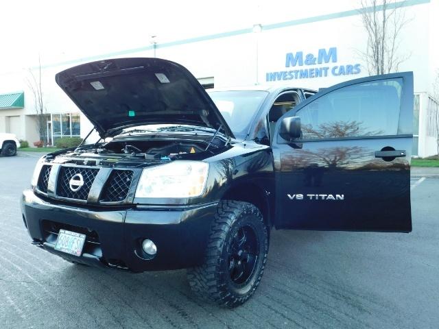 2005 Nissan Titan SE Crew Cab V8 / 4X4 OFF ROAD / CUSTOM EXHAUST - Photo 31 - Portland, OR 97217