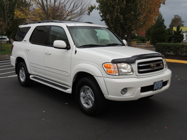 2002 toyota sequoia limited edition 3rd row seats 4wd dvd 1 owner 2002 toyota sequoia limited edition 3rd